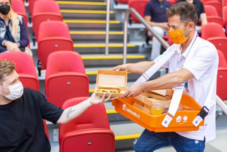 Lieferando: In-Stadium Delivery