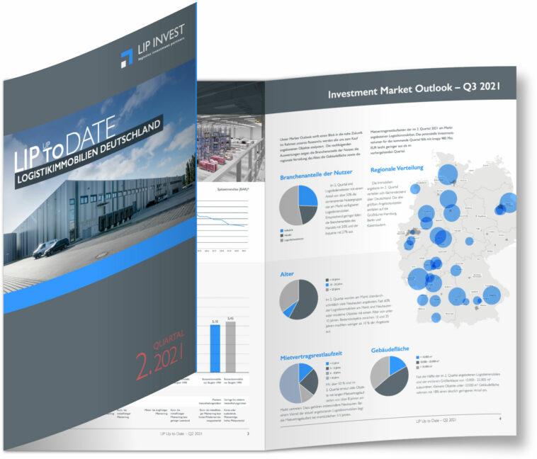 Logistikimmobilien Deutschland: Flächennachfrage führt zu Rekordhalbjahr