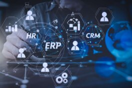 CRM-System ERP