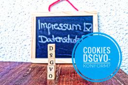 Cookies DSGVO