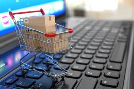E-Commerce-Markt Onlineshopping Online-Handel