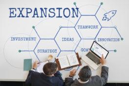 Expansion ins Ausland