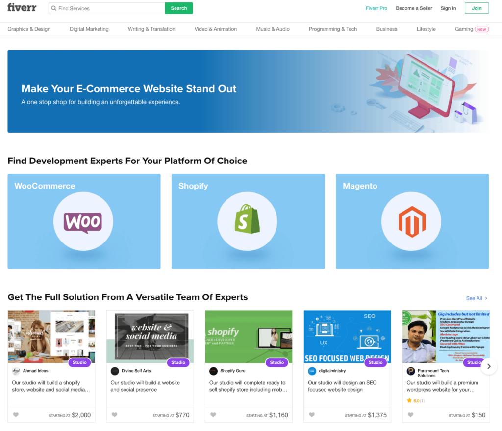 E-Commerce-Service