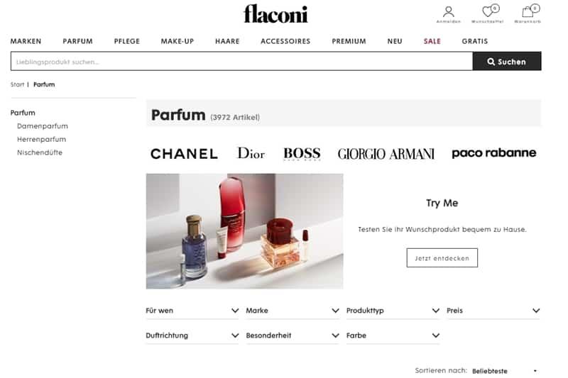 Versandprozesse bei Flaconi