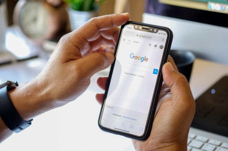 Google-Suche in der Corona-Krise