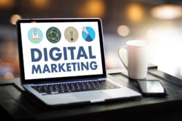 Digital Marketing Newsletter-Kampagne