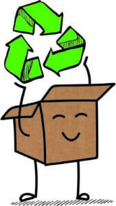 Nachhaltiges Verpacken