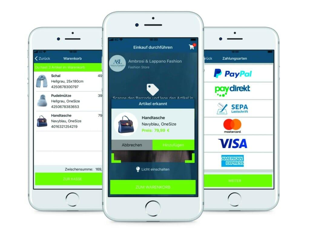 mobiles Bezahlen per BuyBye-App