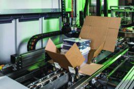 Automatisierte Verpackungslösung: Ein Drittel weniger LKW-Ladungen dank passgenauer Pakete