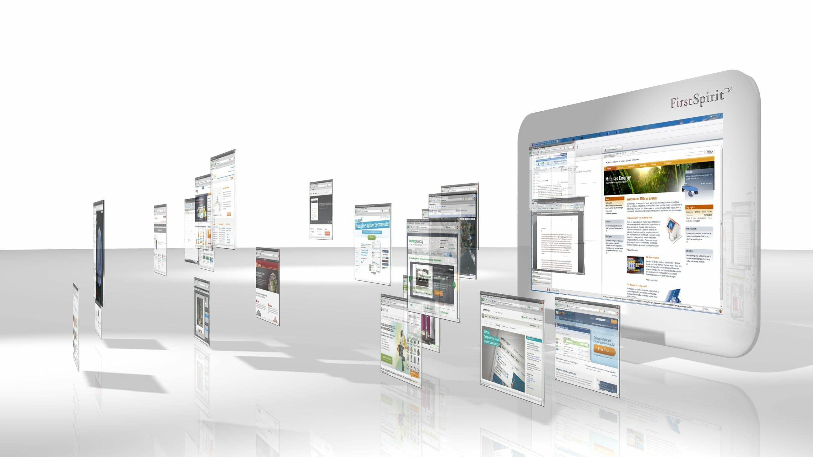 Auch für künftige Innovationen hält die AppCenter-Technologie alle Möglichkeiten bereit: Zusätzliche oder neu entwickelte (Web-)Anwendungen können problemlos eingebunden werden.