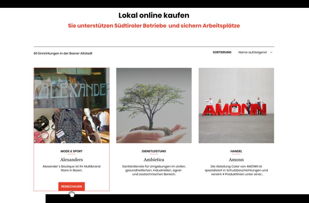 Lokal online einkaufen