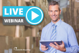 Deutsche Recycling Webinar