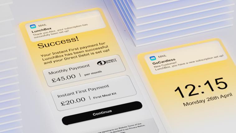 Zahlungen GoCardless
