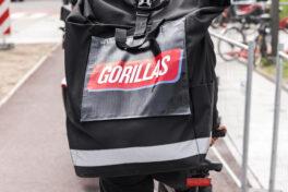 Gorillas zieht Bilanz - 2,5 Millionen Bestellungen im Jahr