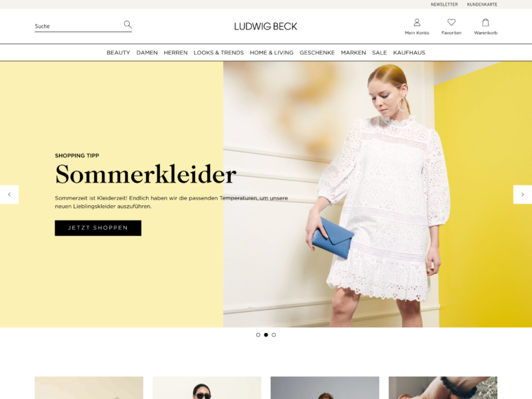 Onlineshop-Relaunch bei Ludwig Beck
