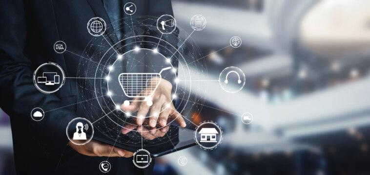Omnichannel-Strategie Einkaufsverhalten E-Commerce-Trends Multichannel-Marketing