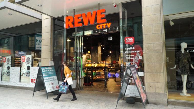 Hybrides Einkaufen Rewe