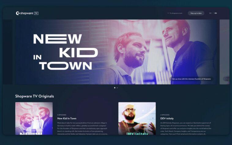 Video-on-Demand-Plattform shopware