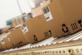 Verpackungslösung Paketaufkommen
