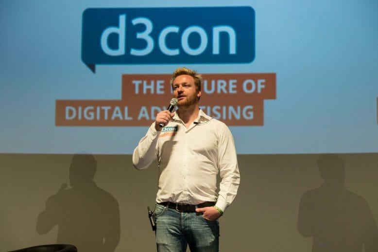 D3com-Gründer und Veranstalter Thomas Promny