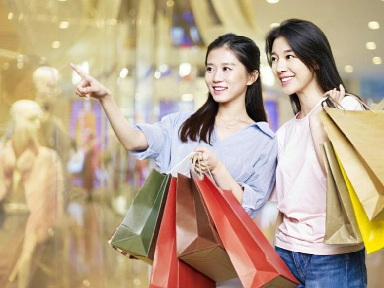 Shoppen in China
