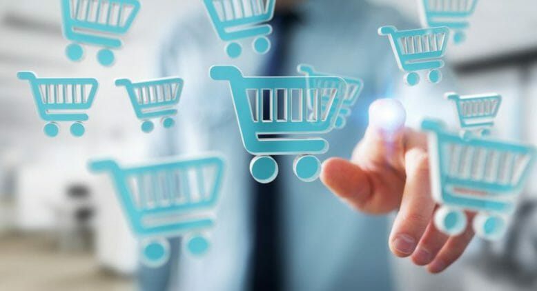 Shopping im Internet
