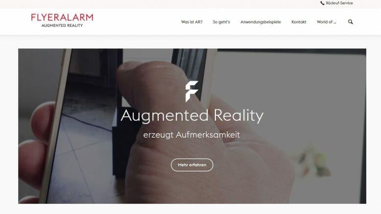 Online Druckerei Will Augmented Reality Für Kmu Erschließen