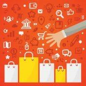Grafik Einkaufen