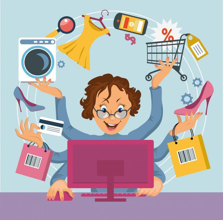 Onlineshopping in der Krise