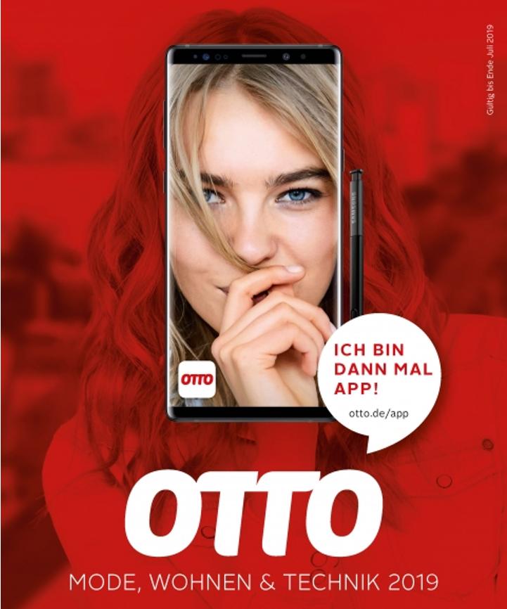 Cover des letzten Otto-Katalogs