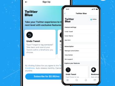 Twitter startet mit Twitter Blue neues Abonnement-Angebot
