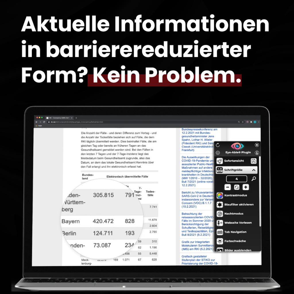 Website barrierefrei gestalten